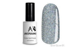 Akinami Color Gel Polish Star Glow - 01